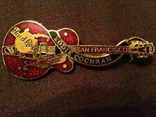 Hard Rock Cafe San Francisco Dead Rocker Eddie Cochran Guitar Pin 3LT 1500 Made