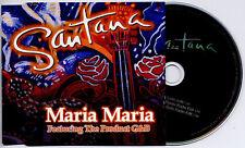 SANTANA Maria Maria 2000 UK 3trk promo CD Wyclef Remix