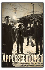 The Appleseed Cast * ORIGINAL CONCERT POSTER * rare limited - FREE SHIPPING