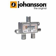 More details for johansson 4502 wideband indoors 2 way splitter 5-2400 mhz