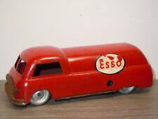 Old Petrol Tanker Esso - Ingap Padova Italy 500 - Tinplate Toy *35339