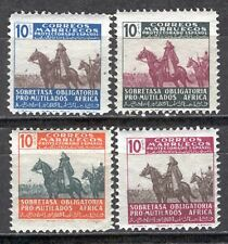 1940 SPANISH MOROCCO Scott # RA12-15 MNH Set  General Franco Scarce