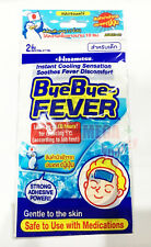 Soothes Fever Discomfort Cooling Gel Gentle to the skin for Children 2 Sheets