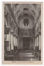 Interior Cattedrale S Pietro Modica Italy 1910c postcard
