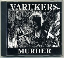 Varukers - Murder CD GERMAN 1998 PRESS Discharge Sick On The Bus Vile UK Punk