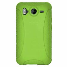 Amzer Silicone Skin Jelly Case for HTC Desire HD - Green