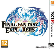 3DS-Final Fantasy - Explorers /3DS  GAME NEW