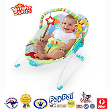 Aus Qlty Bright Starts Baby Soothing VIBRATING Bouncer/Rocker/Chair With Harness