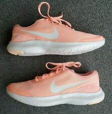Nike Flex Experience RN 7 Pink White Gym Running Shoes Women's Size 9.5 US