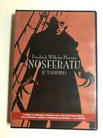 Nosferatu Il vampiro (1922) DVD COME NUOVO CULT Friedrich Wilhelm Murnau Dracula