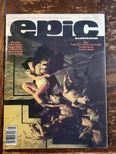 Epic Illustrated Magazine 31 1985 Toads Wart Byrne Galactus