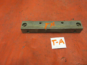 MG TA, Original Engine Rear Oil Pan Mounting Block or Bracket, VGC!!O