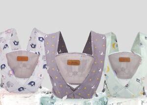 Adjustable Infant Baby Carrier Wrap Sling Hip Seat Newborn Backpack
