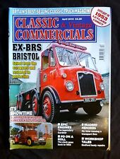 Classic Commercials April 2013, Bristol saved from the scrapyard and restored.