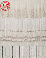 WHITE LACE RUFFLE CUTE BABY BACKDROP BACKGROUND VINYL PHOTO PROP 5X7FT 150X220CM