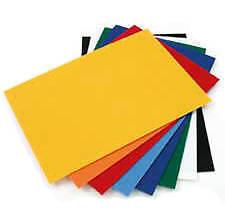 Bastelkarton 220g/m², A4, sortiert,100 Blatt