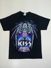 Kiss T-shirt Monster Tour 2013 Double Sided Concert Spider Metal Rock Medium