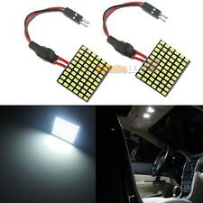 2pcs High Power White 60-SMD LED Panel For Cars Dome Map Truck Interior Lights