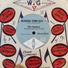 45rpm single - The Seekers - Morning Town Ride Kumbaya (M-)