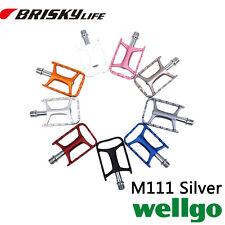Free shipping Wellgo pedals M111 Aluminium alloy MTB road urban bike pedals