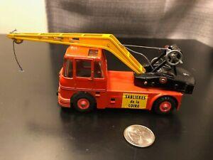J.R.D. Grue Mobile Crane Sablieres de la Loire  - Die Cast Model - Rare!!