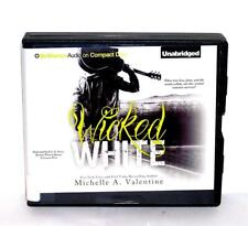 Book/Audiobook Cd Michelle Valentine Fiction Novel Romance Wicked White