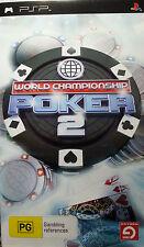 PSP GAME WORLD CHAMPIONSHIP POKER FREE POSTAGE WITHIN AUSTRALIA