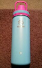 Takeya Water Bottle 18oz. - Aqua&Pink