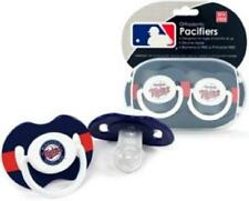 Minnesota Twins Baby Pacifiers 2 Pack [NEW] MLB Infant Newborn Child Binky