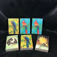 Lot of 6 Vintage NOS Sealed STARDUST NU-VUE Playing Cards