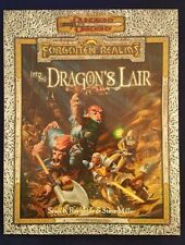 D&D 3.0 Forgotten Realms INTO THE DRAGON'S LAIR TSR11634 Dungeons and Dragons NM