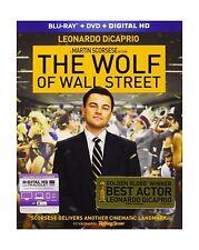 The Wolf of Wall Street (Blu-ray + DVD + Digital HD) Free Shipping