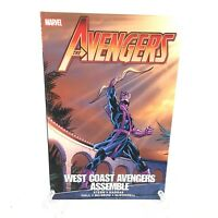 Avengers: West Coast Avengers Assemble Hawkeye Vision Marvel Comics TPB NEW