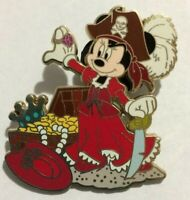 Minnie Mouse POTC pirates of the Caribbean We wants the Redhead  Disney pin  Y