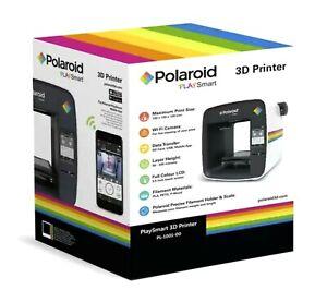 Polaroid PlaySmart 3D Printer PL-1001-00 with Wi-Fi Camera - NEW/SEALED