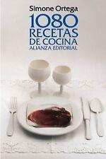 1080 recetas de cocina. NUEVO. Nacional URGENTE/Internac. económico. GASTRONOMIA