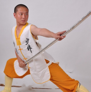 Children's cotton and linen Shaolin Kungfu Wing Chun Tai Chi jacket vest
