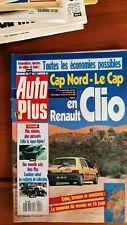 AUTO PLUS n°121  de 1991 -CAP Nord en Renault Clio -ca66