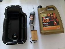ENGINE SUMP OIL PAN KIT PEUGEOT 206 207 307 1007 BIPPER PARTNER 1.1 1.4 8 & 16v