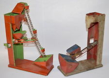 2 VINTAGE TIN LITHO SAND TOYS, 1 COMPLETE AND 1 PARTS ONLY: BOTH ARE U... Lot 26