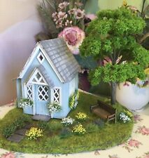 1:48, Handmade, Summer House, Dolls House With Garden And Bench