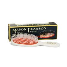 Mason Pearson N4 Nylon Pocket Hair Brush, White