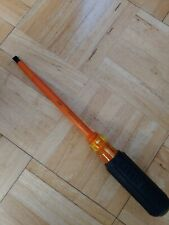 """NEW Klein Tools 602-7-INS Insulated 5/16"""" Tip - 7""""  Screwdriver"""