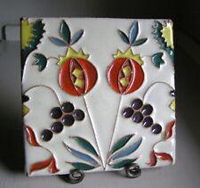 New listing Art Deco Cuerda Seca Cuenca Tile Solon & Schemmel S&S Kraftile Claycraft Calco