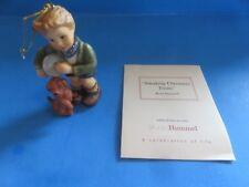 "Goebel Hummel ""Sneaking Christmas Treats� Ornament 2004"