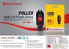 Strontium 2GB 4GB 8GB 16GB 32GB 64GB Pollex Series USB 2.0 USB Flash Drive