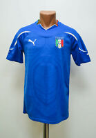 ITALY NATIONAL TEAM 2010/2011/2012 HOME FOOTBALL SHIRT JERSEY PUMA SIZE S ADULT