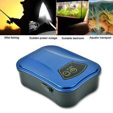 USB AC/DC Silent Air Pump Oxygen Compressor Aquarium Charging Oxygenator