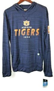 Levelwear NCAA Auburn Tigers Hoodie Blue Thin Lightweight Modern Fit Small