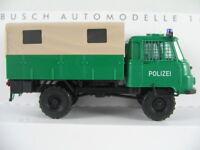 """Busch 50216 Robur LO 2002 A Pritsche/Plane (1973) """"POLIZEI"""" 1:87/H0 NEU/OVP"""